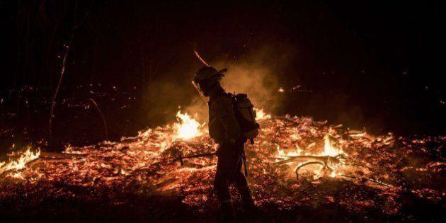 Un incendio arrasa 2.000 hectáreas en Cualedro