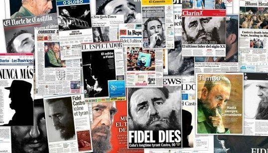 La muerte de Fidel, en los