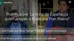 Polémica por 'La reina de España', ¿a quién apoyas, a Jordi Évole o a Fran