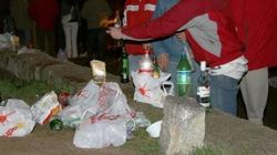 Una niña de 13 años, hospitalizada por coma etílico tras un botellón en Leganés