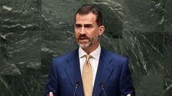El rey se estrena en la ONU