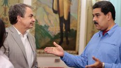 Rodríguez Zapatero se reúne con Maduro en el palacio de