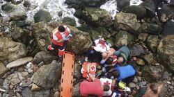 Un inmigrante muere al lanzase al mar cerca de
