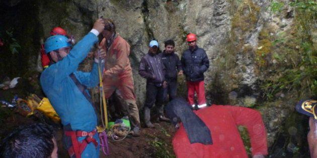 Cecilio López en Perú: así es el rescate al espeleólogo