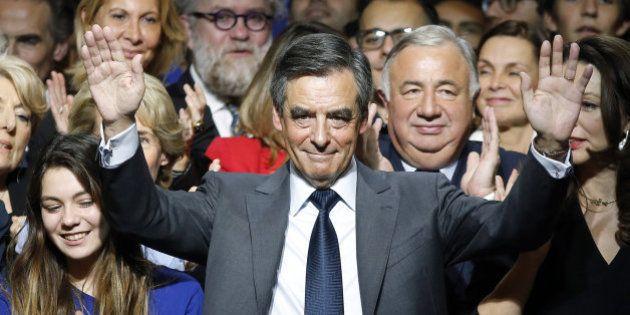 François Fillon será el candidato del centro-derecha francés a la
