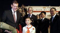 Rajoy vende en China el