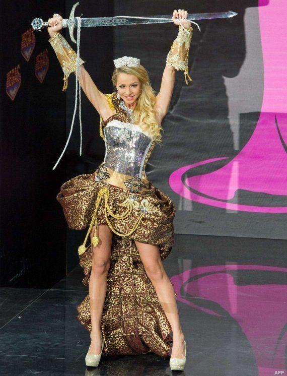 Miss Universo 2013: formas muy peculiares de vestirse de un país