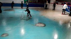 Cierran esta pista de patinaje en Japón por lo que había bajo el