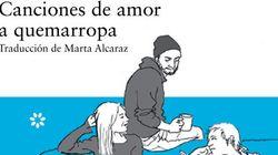 'Canciones de amor a quemarropa': páginas con banda