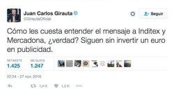 Jordi Évole y Girauta (C's) se enzarzan en Twitter a raíz de este mensaje sobre