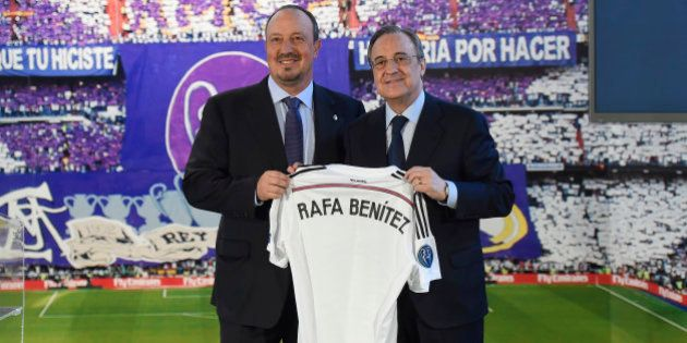 Benítez estalla contra Florentino