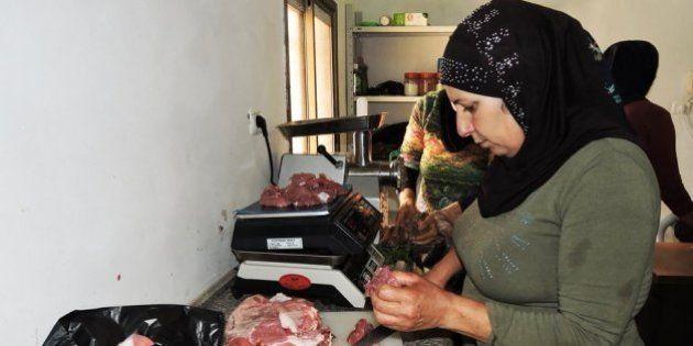 Mujeres palestinas, empresarias de sus