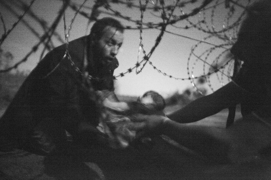 El drama que relata la imagen ganadora del World Press Photo