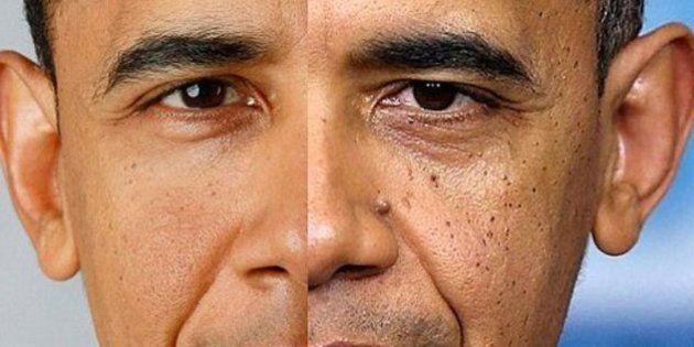 Barack Obama: su transformación física tras cinco años de mandato