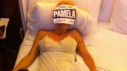 Esta es Pamela Anderson después de un maratón en Nueva
