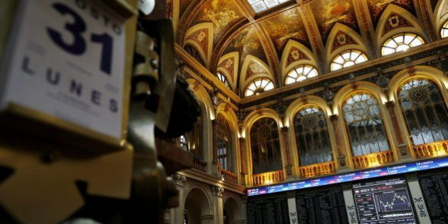 La bolsa española cae en agosto el 8,24 %, el mayor retroceso desde