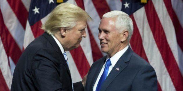 Donald Trump elige a Mike Pence como su
