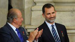 El rey Juan Carlos, sobre Felipe VI: