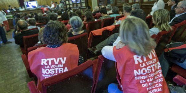 La Justicia tumba el ERE de Radio Televisión Valenciana que afectó a un millar de