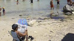 Desenfundad los abanicos: la primera ola de calor del verano ha