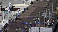 El recorrido que hizo el camión durante el atentado de Niza