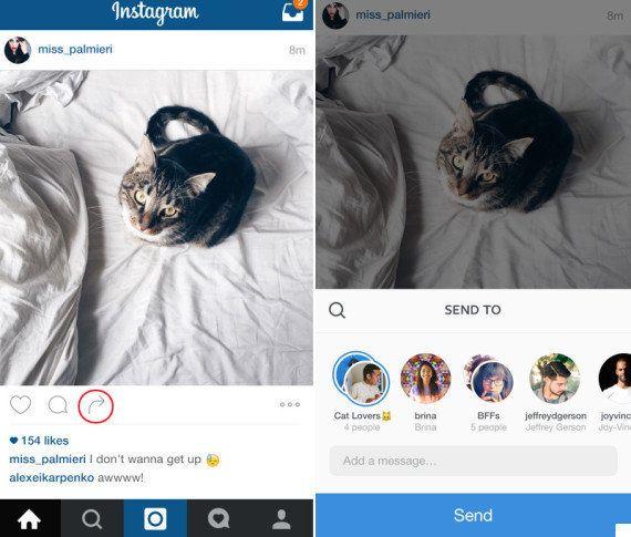 Novedades en Instagram Direct: la 'app' convierte sus mensajes privados en un chat