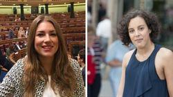 María Such y Nagua Alba, las diputadas más jóvenes del