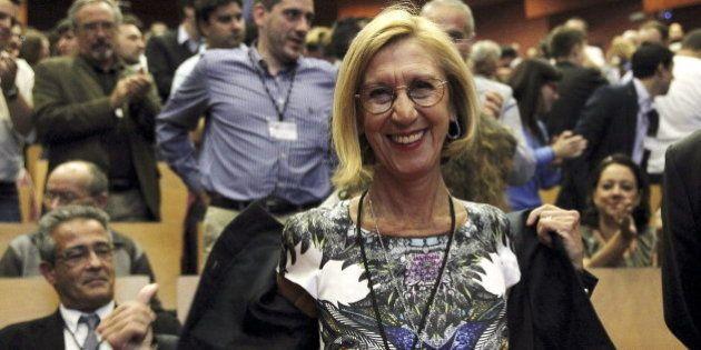 Rosa Díez, la política mejor valorada de España, según el