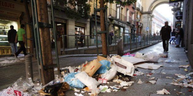La huelga de limpieza en Madrid, en