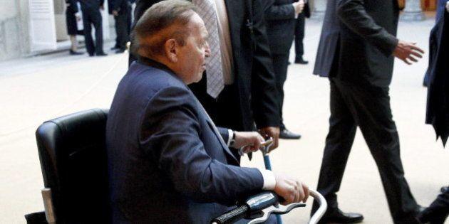 Adelson, en la audiencia del rey con la principal organización