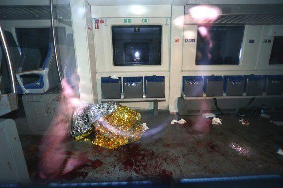 Un refugiado afgano hiere con un hacha a cuatro personas en un tren alemán al grito de