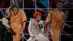 El homenaje de Lady Gaga a David Bowie en los