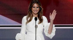 Acusan a la mujer de Trump de plagiar en su discurso a Michelle