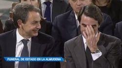 ¡Extra, extra!: Zapatero hace reír a Aznar