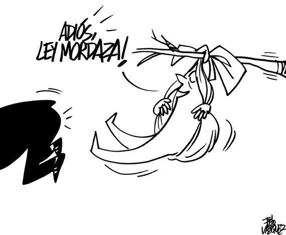 Adiós, Ley