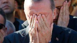 Erdogan tras el