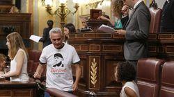 La polémica camiseta de Diego Cañamero que incendia