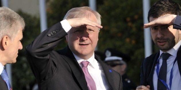 Rehn y Guindos reconocen el riesgo de una inflación muy