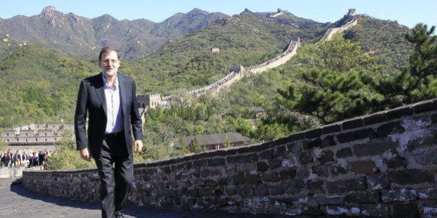 Rajoy advierte desde la Gran Muralla a Mas del