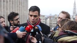 Pedro Sánchez critica a Rajoy por su 'pillada' en