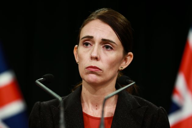 Prime Minister Jacinda Aredrn speaks to media during a press conference at Parliament on March 15, 2019...