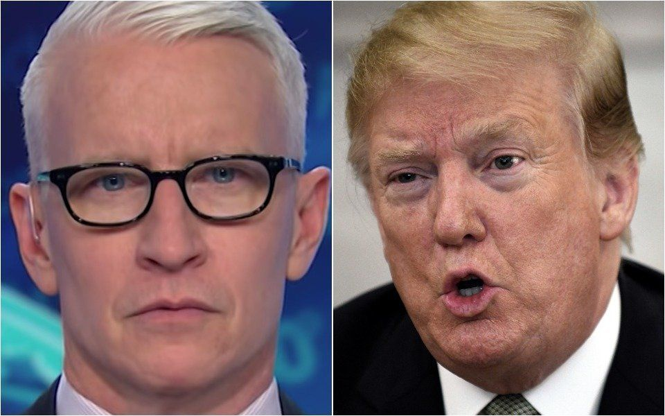 CNN's Anderson Cooper Rips Donald Trump's Repeated Redefining Of Reality