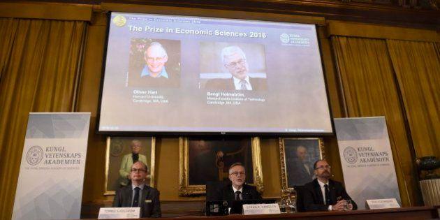 Oliver Hart y Bengt Holmström ganan el Nobel de Economía por sus trabajos sobre