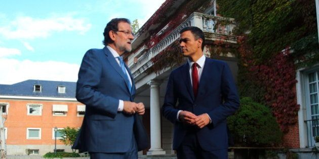 Rajoy y Sánchez se reúnen este miércoles en La Moncloa tras el