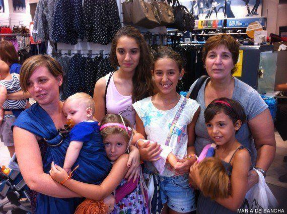 'Tetada' española: las madres defienden el derecho a amamantar en público ante Primark
