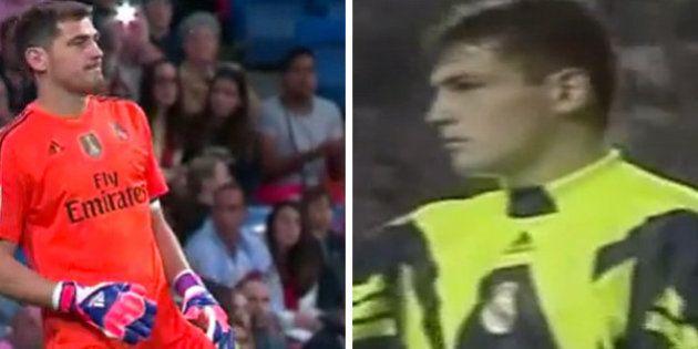 La carrera de Casillas en el Madrid, en 9