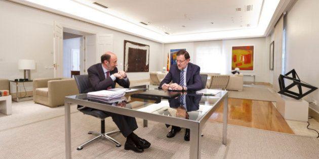 La 'vuelta al cole' de Rajoy y Rubalcaba: retoman su actividad tras las vacaciones de