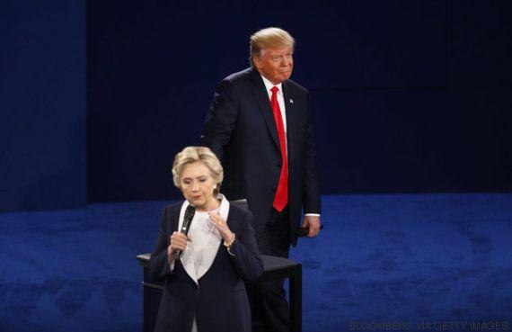 Hillary Clinton sobrevive al debate más tosco de la