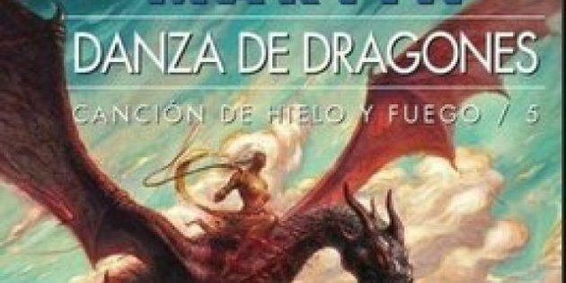 'Juego de tronos', los libros: 'Danza de dragones' y otras portadas de 'Canción de hielo y fuego'