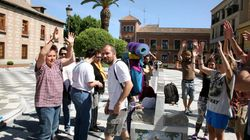 Protesta a pie desde Talavera al